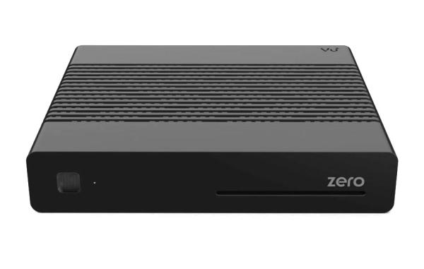 VU+ DVB-S2 HDTV přijímač Zero/ HbbTV/ HDMI/ USB/ RS-232/ LAN/ černý