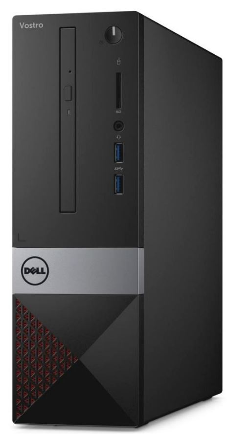 Dell PC Vostro 3250 SF Pentium G4400/4GB/500GB/VGA/HDMI/DVD-RW/WiFi+BT/W10P/3RNBD/Černý