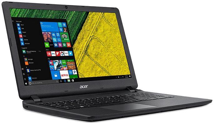 "Acer Aspire ES 15 (ES1-533-P840) Pentium N4200/4GB+N/A/256GB SSD+N/DVDRW/HD Graphics/15.6"" FHD LED matný/BT/W10 Home/Black"