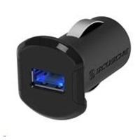 SCOSCHE nabíječka do auta reVolt 2,4 A, podsvícený USB slot, černá