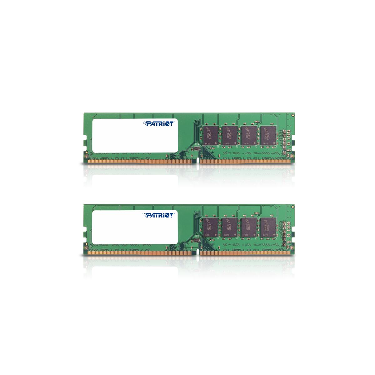 32GB DDR4-2133MHz Patriot CL15, kit 2x16GB