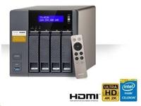 BAZAR - QNAP TS-453A-8G (2.08GHz, 8GB RAM, 4x LAN, 4x SATA), rozbaleno