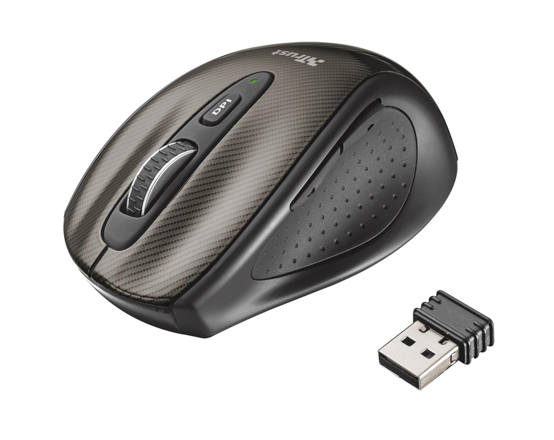 myš TRUST Kerb Compact Wireless Laser Mouse
