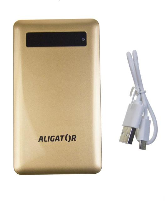 Aligator POWERBANK slim 4000mAh Gold