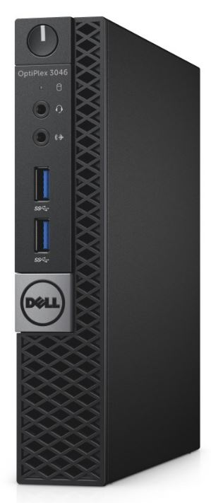 DELL OptiPlex MFF 3046 i3-6100T/4GB/500GB/Win 10 Pro 64bit/3Yr NBD