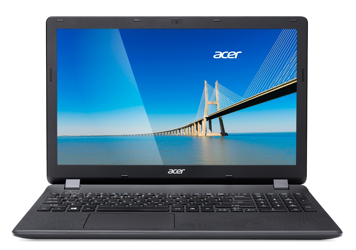 "Acer Extensa 15 (EX2519-C4HS) Celeron N3160/4GB+N/1TB+N/DVDRW/HD Graphics/15.6"" HD LED matný/W10 Home/Black"