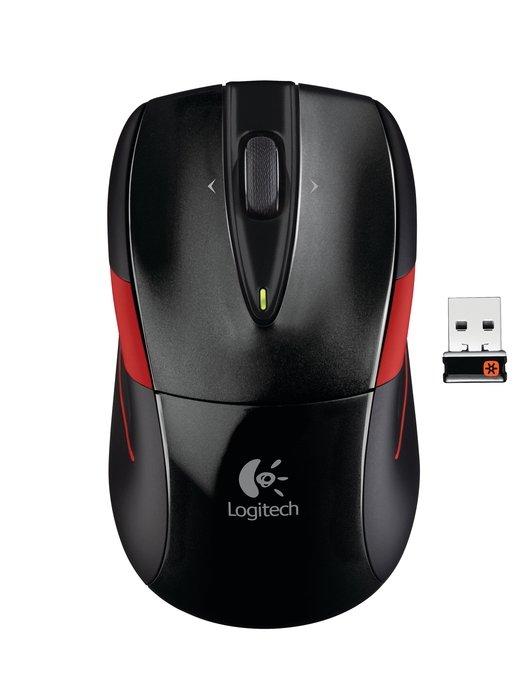 myš Logitech Wireless Mouse M525 nano, černá