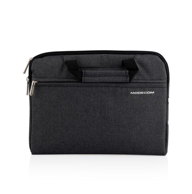 """Modecom taška HIGHFILL na notebooky do velikosti 11,3"""", 2 kapsy, šedá"""