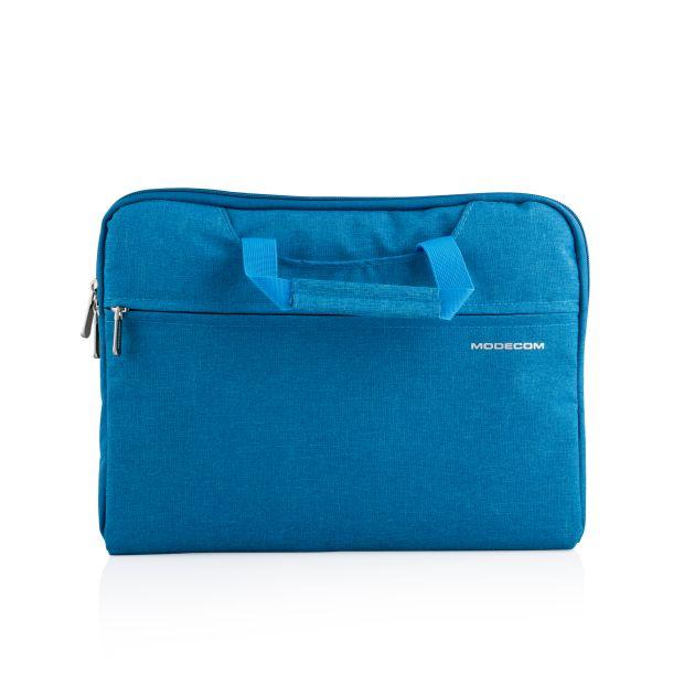 """Modecom taška HIGHFILL na notebooky do velikosti 13,3"""", 2 kapsy, tyrkysová"""