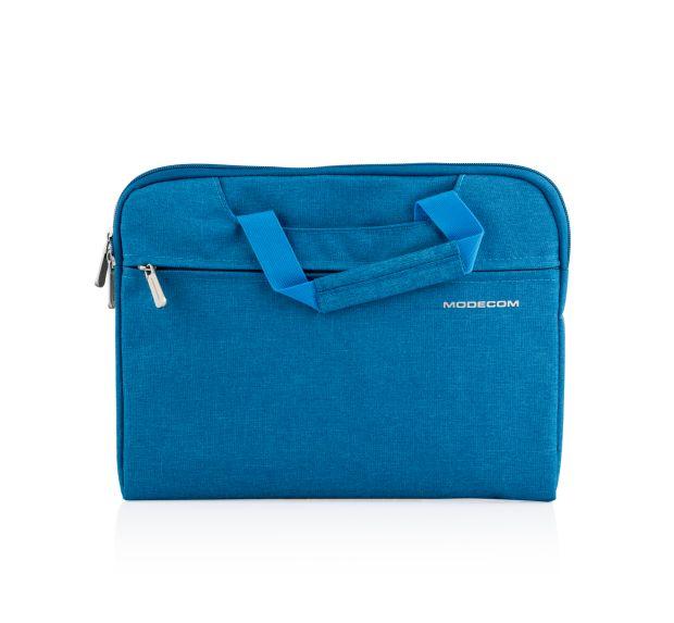 """Modecom taška HIGHFILL na notebooky do velikosti 11,3"""", 2 kapsy, tyrkysová"""