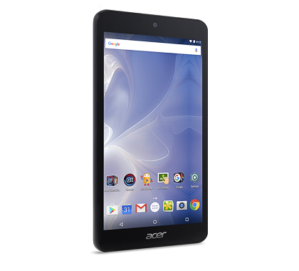 "Acer Iconia One 7 (B1-780-K4F3) MTK MT8163/7"" IPS Touch/1280x720 HD/1GB/eMMC 16GB/BT/Android 6.0 Marshmallow/Black"