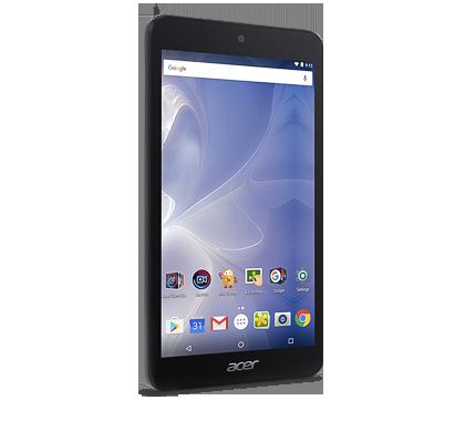 "Acer Iconia One 7 (B1-780-K4F3) MTK MT8163/7"" IPS Touch/1280x720 HD/1GB/eMMC 16GB/BT/Android 6.0 Marshmallow/Black"