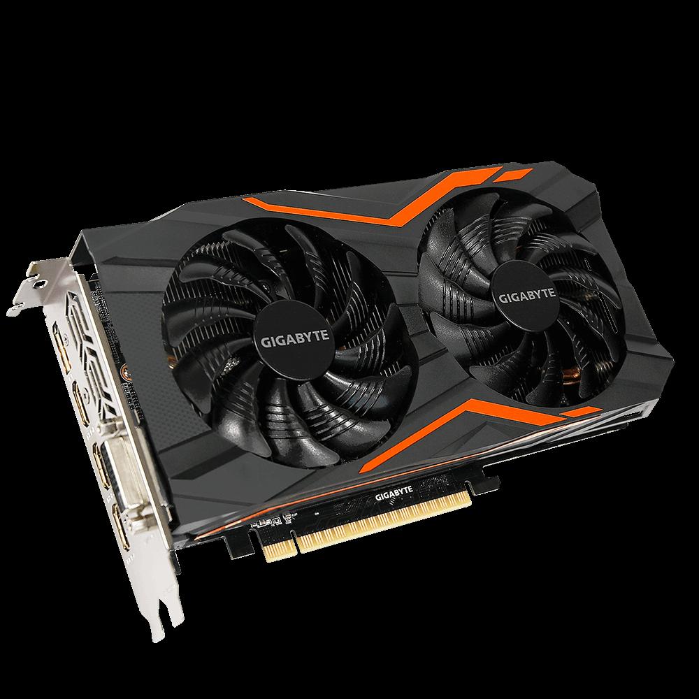 Gigabyte GeForce GTX 1050 Ti, 4GB GDDR5