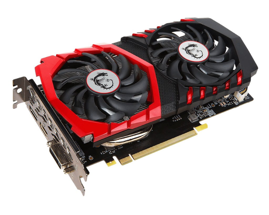 MSI GTX 1050 GAMING X 2G, 2GB GDDR5, PCIe x16 3.0, 128bit, DVI-D, HDMI, DP
