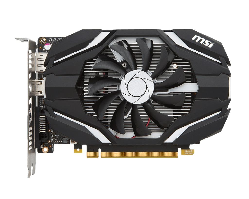MSI GTX 1050 2G OC, 2GB GDDR5, PCIe x16 3.0, 128bit, DVI-D, HDMI, DP