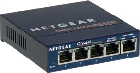 Netgear 5x 10/100/1000 Ethernet Switch
