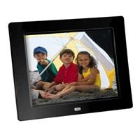 "Braun LCD fotorám DigiFRAME 850 (8"", 800x600px, 4:3 LED, 1GB, černý)"
