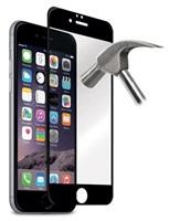 Puro ochranné sklo Tempered Glass s rámečkem pro iPhone 6 / 6s, černá