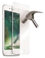Puro ochranné sklo Tempered Glass s rámečkem pro iPhone 7, bílá