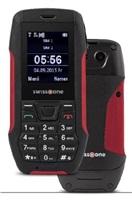 Swisstone SX567 Dual SIM, outdoorový telefon, černá/červená