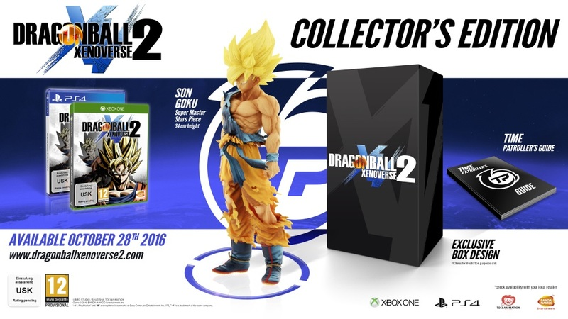PS4 - ESP: Dragon Ball Xenoverse 2 Collectors Edition