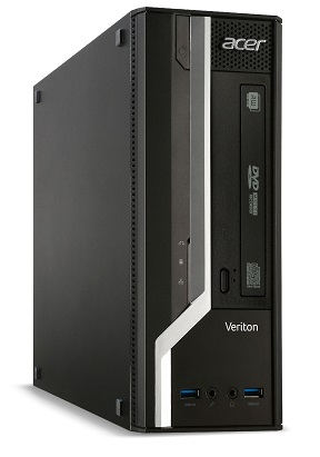 Acer Veriton X2640G/Ci3-6100/4GB DDR3/128GB/DVD RW/W7Pro 64/W10Pro 64