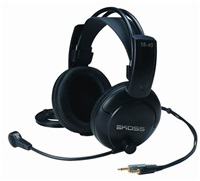 BAZAR KOSS sluchátka SB40 , sluchátka s mikrofonem, bez kódu, REPAIR, bez obalu, holé