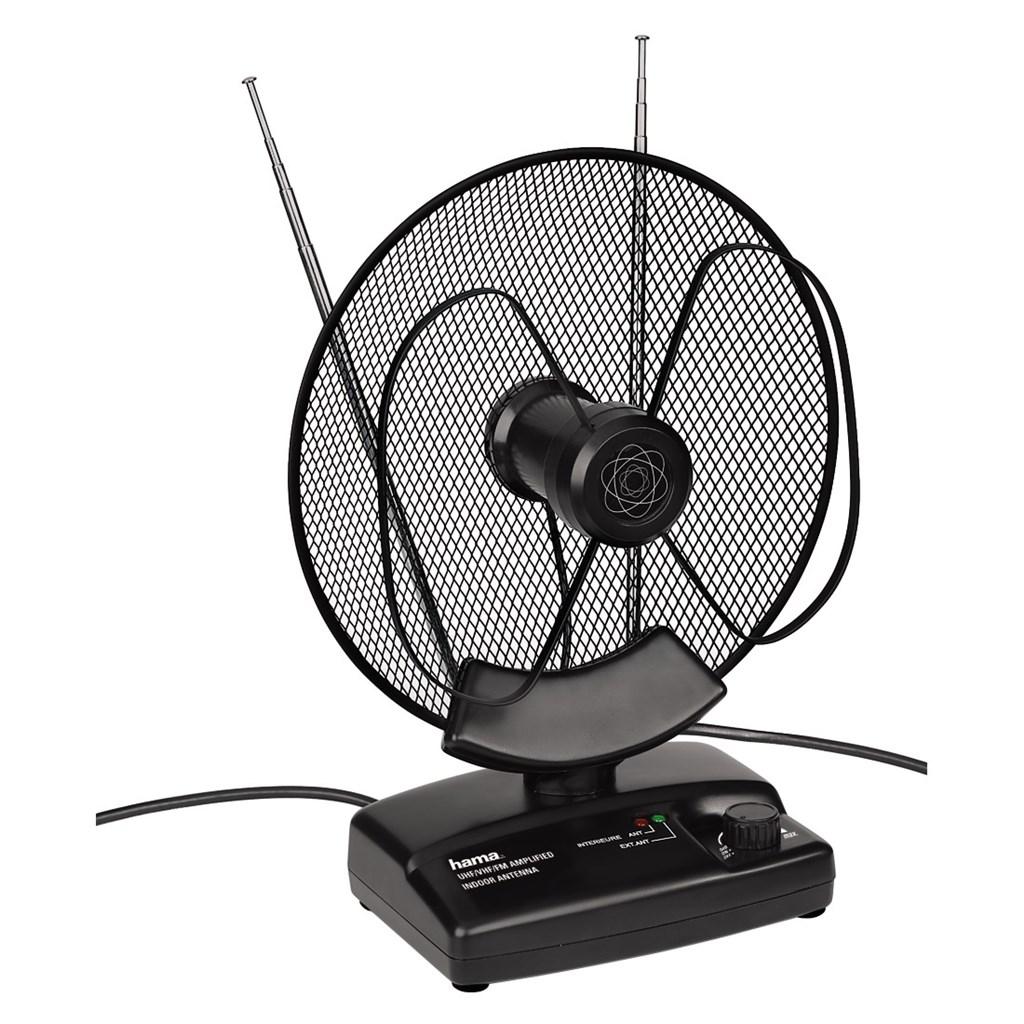 Hama aktivní pokojová anténa VHF/UHF/FM, 36dB