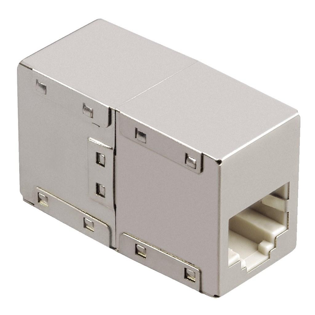 Hama síťový adaptér - RJ45 spojka, kovová