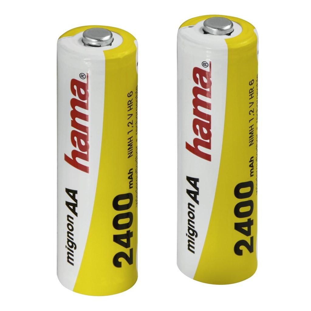 Hama akumulátor NiMH Ready4Power, 2x AA, 2400 mAh