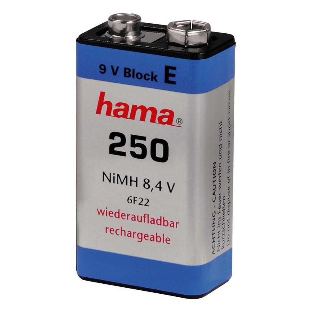 Hama niMH Battery 9V E-Type 250 mAh