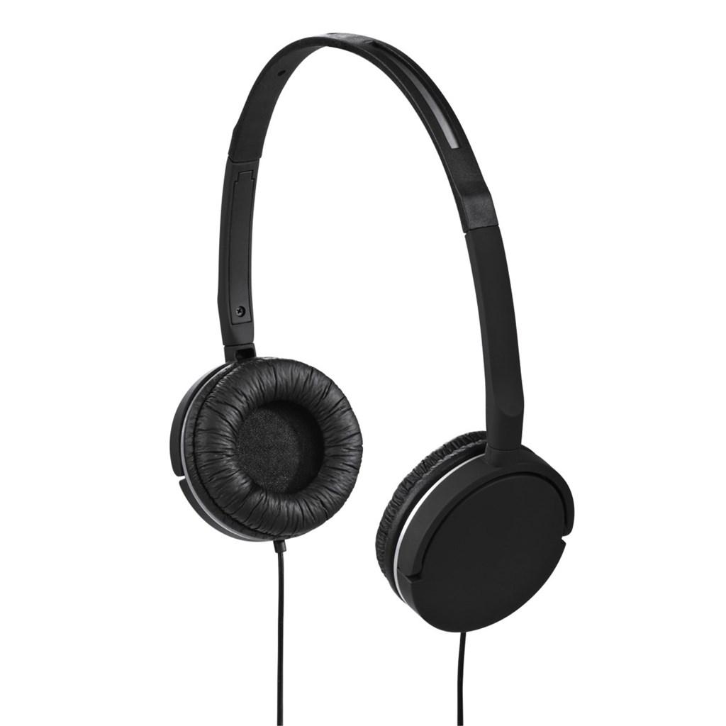 Hama sluchátka s mikrofonem Joy Slim, uzavřená, černá