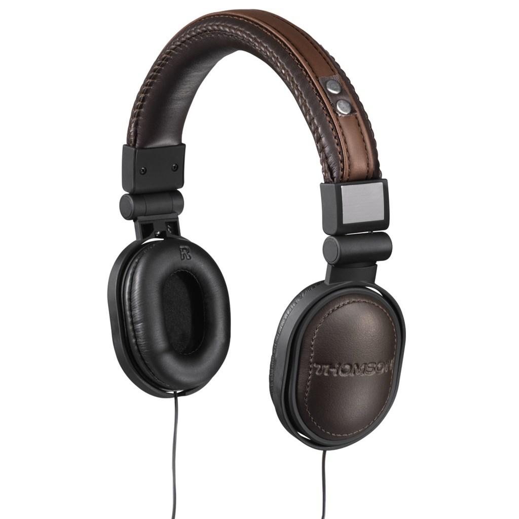 Thomson sluchátka Heritage, uzavřená, hnědá/černá