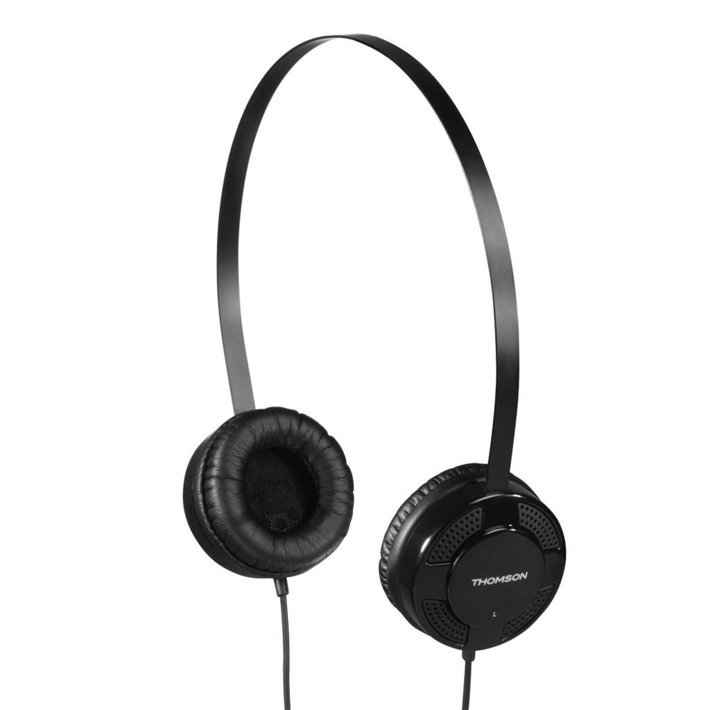 Thomson sluchátka HED1123, on-ear, černá