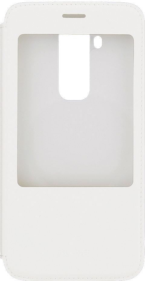 Huawei Original S-View Pouzdro White pro G8