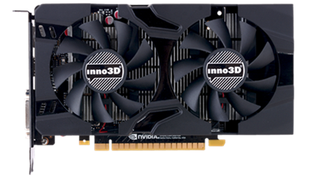 Inno3D GeForce GTX 1050 Ti TwinX2 4GB, DP 1.2+HDMI 2.0+DL-DVI-I