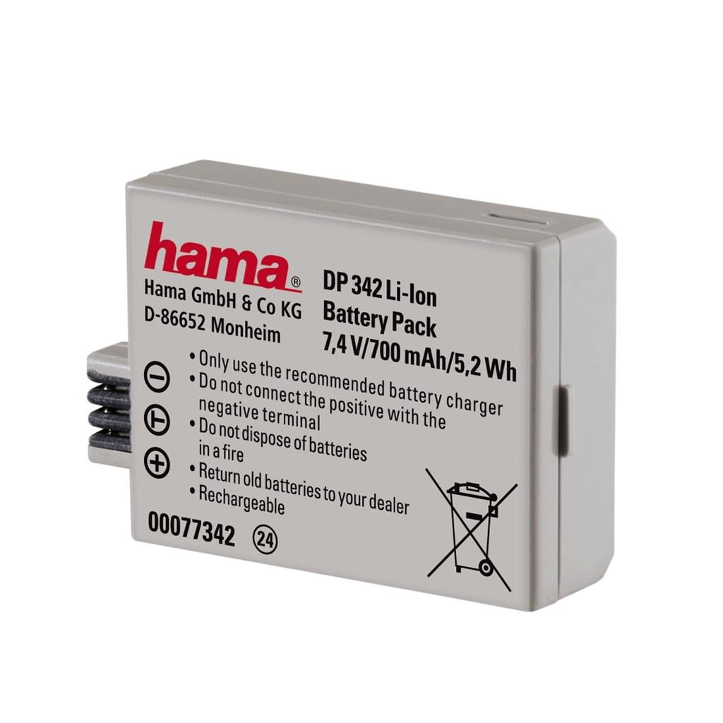 Hama fotoakumulátor Li-Ion 7.4 V/700 mAh,typ Canon LP-E5
