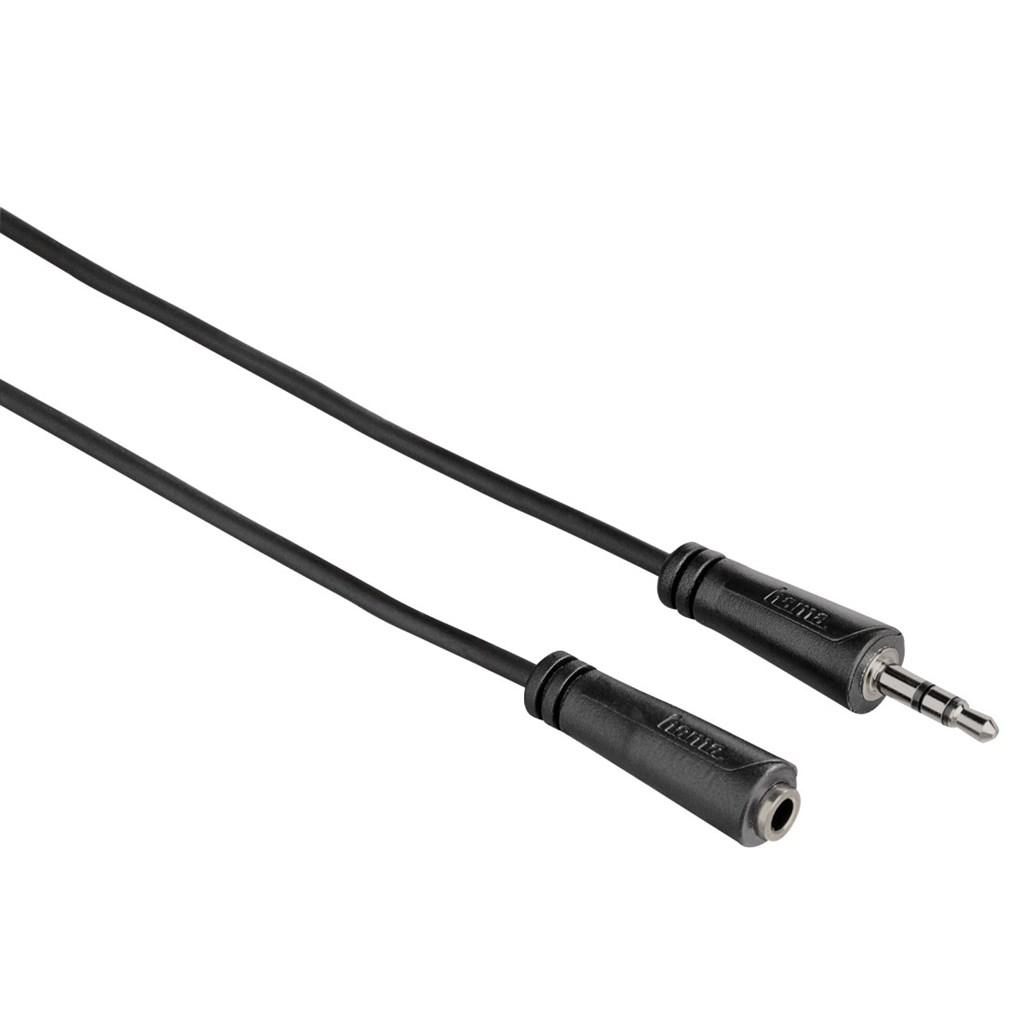 Hama prodlužovací audio kabel jack 3,5mm stereo, 1*, 5 m