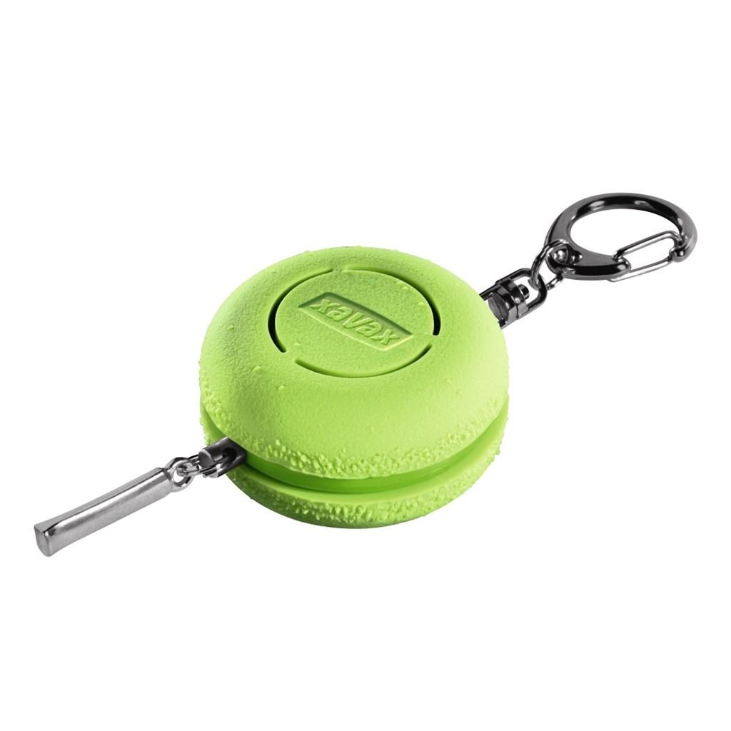 Xavax osobní alarm Makronka s kroužkem na klíče, zelený