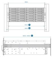 QNAP Rail-A03-57 2U/3U ližiny