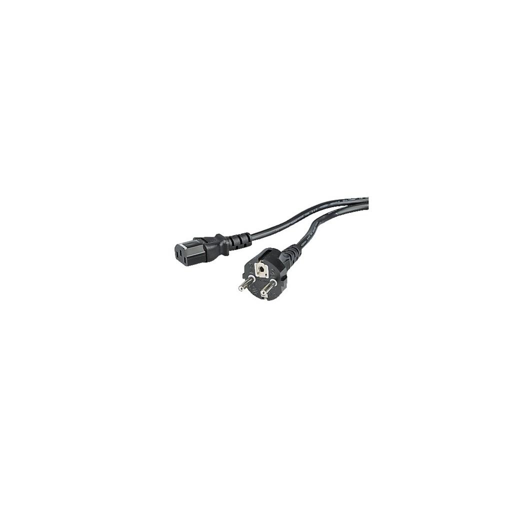 Hama síťový napájecí kabel s ochranným kontaktem, 2,5 m