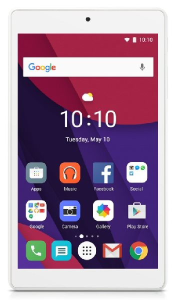 "Alcatel Pixi 4, 4x 1,3 GHz MT8127, 7"" TFT, 1024x600, 1GB RAM, 8GB + microSD, BT, Wifi, Android 6.0, white"