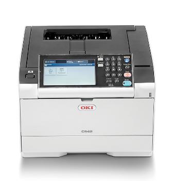 OKI C542dn, A4 30/30 ppm, 1200x1200 dpi, 1GB RAM, PCL + PS, USB 2.0 + LAN, duplex