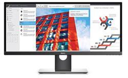"""DELL UltraSharp U2917W 28.7"""" 21:9 IPS 2560x1080 1000:1 5ms 300cd HDMI DP mPD USB Black"""
