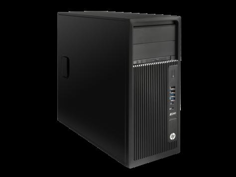 HP Z240 TWR Core i5-6600 2x4GB nonECC 1TB DVDRW Win10/Win7 Pro 64, NoKBD