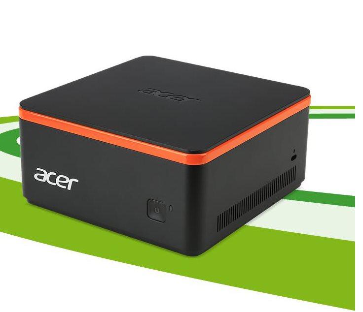 Acer Aspire Revo Build M1-601 Celeron J3060D/4GB/500GB SATA/W10 Home