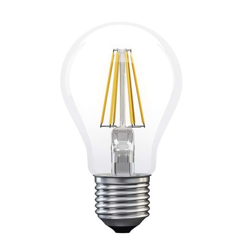 Emos LED žárovka Classic A60, 6W/60W E27, WW teplá bílá, 806 lm, Filament A++