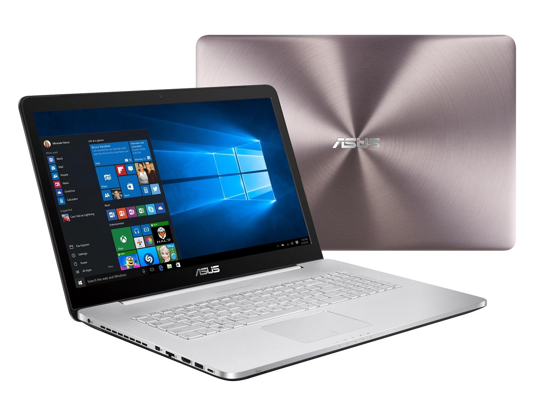 "ASUS N752VX-GC286T i5-6300HQ/8G/1T 5400ot./DVD-RW/GTX950M 2G/17,3"" FHD/W10/Gray Silver"