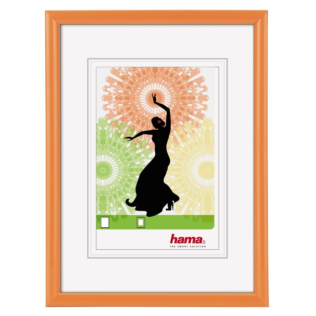 Hama rámeček plastový MADRID, oranžová, 15x20 cm