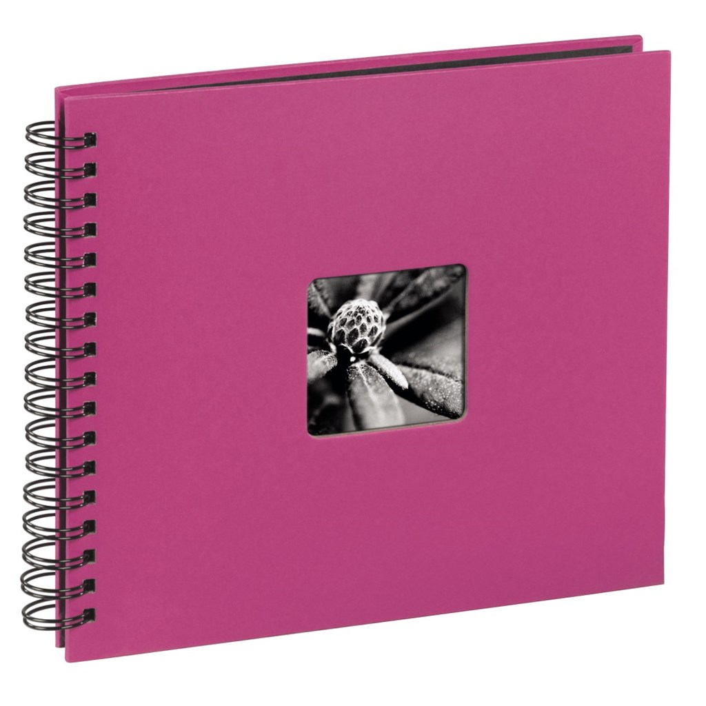 Hama album klasické spirálové FINE ART 36x32 cm, 50 stran, pink